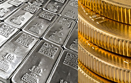 Bluevault Silver Bars And Gold Coins
