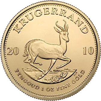 The South African 1 Ounce Gold Krugerrand