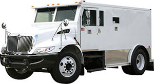 insured armored car pickup